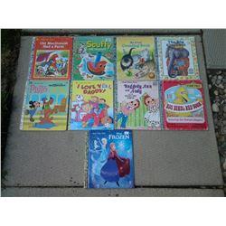 A Little Golden Books (9 Books)