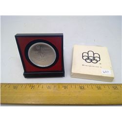 $5 1976 Montreal Olympic Silver Coin - Rowing