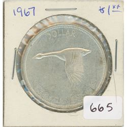 1967 Canadian Silver