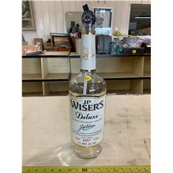 J.P Wisers 3L Whisky Bottle