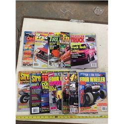 Lot of Assorted Truck Magazines