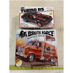 2- Model Car Kits (Some Missing Pieces)