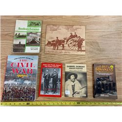 Assorted Canadian History Books