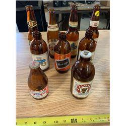 Assorted Old Beer Bottles