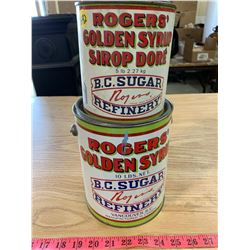 Rogers Golden Syrup Tins