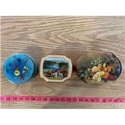 3- Toffee Tins