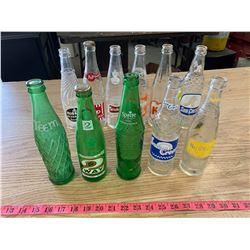 11- Old Soda Bottles