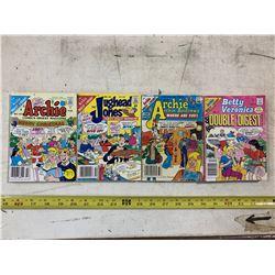 4- Archie Comic Books