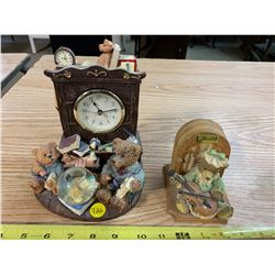 Little Bears Clock & Music Box (Works)