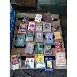 Biography/Memoire Books