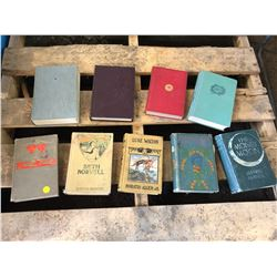 Lot of 9 Hardcover Novels