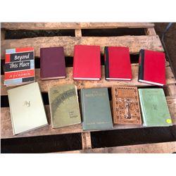 Lot of Old Hardcover Novels