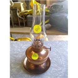 Brass Kerosene Lamp