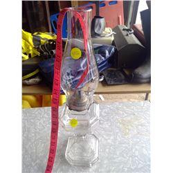 White Flame Glass Kerosene Lamp