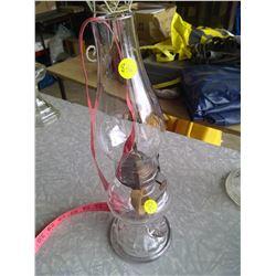 Queen Mary Glass Kerosene Lamp w/ Handle