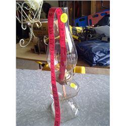 Eagle Brand Glass Kerosene Lamp w/ Handle
