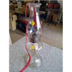 Nu-Style Glass Kerosene Lamp
