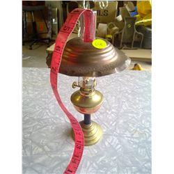 Small Brass Kerosene Lamp