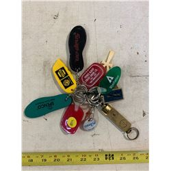 11- Assorted Key Chains