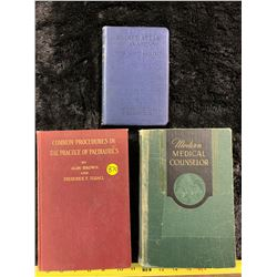 Medical Books Dated 1932, 1951, 1950