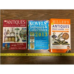 3 Antique Books