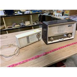 2 Old Radios