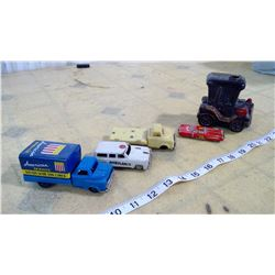 Old Tin Cars and Trucks