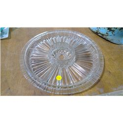 Crystal Serving Plate