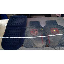 Dodge Floor Mats and Seat Cushion