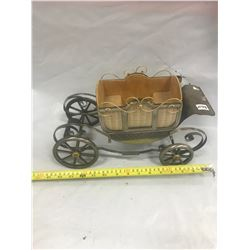 Metal Carriage - Musical - 14""
