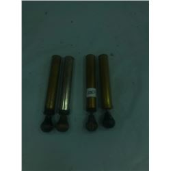 4 Pumps - 3 Brass, 1 Chrome