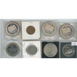 1825-1868 Charlottetown, PEI Token, 1941 Great Britain Half Penny, 1818-1896 Charlottetown, PEI Toke