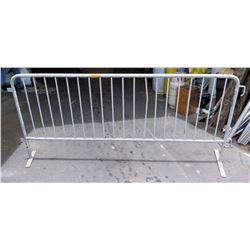 Metal Rail Interlocking Partition Divider Barricade