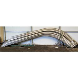 Pallet Sprung Tent Frame Rails - Curved & Straight