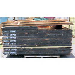 Pallet Portable Wooden Stage Sections