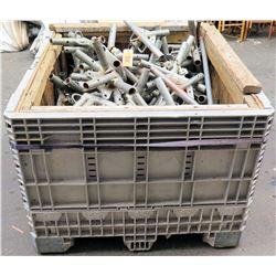 Bin Metal Tent Frame Corners & Connector Fittings