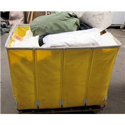 Rolling Bin w/ Multiple Size Baytex Sidewalls Tent Liners
