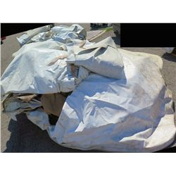 Pallet Tent Flame Retardant 9 X 15 Tent Wall Sections Tarps