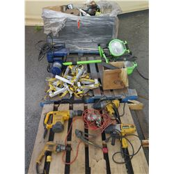 Multiple DeWalt Power Drill Drivers, Commercial Electric Lights, Winch, etc
