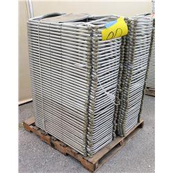 Approx. Qty 90 Metal & Hard Plastic Folding Chairs