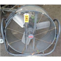 Dayton Round Industrial Electric Floor Fan