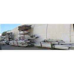 Racks w/ Multiple Size Sausalito Metal Interlocking Tent Poles & Fittings