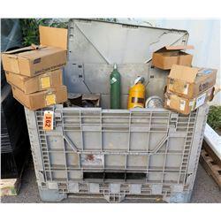 Bin Boxes John Crane Int'l Wire, Lights, Tanks, Railings, etc