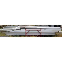 Rack Multiple Straight Interlocking Tent Frame Rails