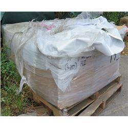 Pallet: Approx. 620 Yards Keder Solutions 13mm Repair Flap Panama, White