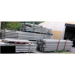Multiple Bundles Straight Interlocking Tent Frame Rails
