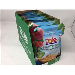 Dole Sliced Peaches with Resealable Fridge Packs