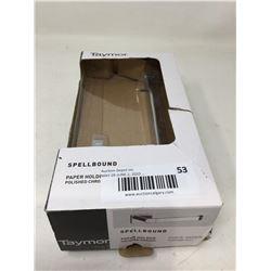 Spellbound Polished Chrome Paper Holder