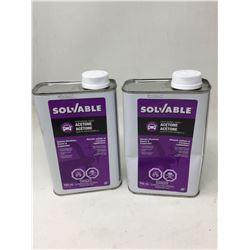 Solvable Professional Grade Acetone (2 x 946ml)