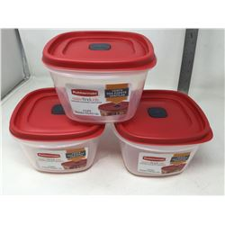 Rubbermaid Vents Rubber Containers